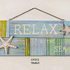 Contemporary Novelty Signs by Beach Decor