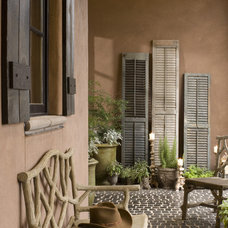 Traditional Porch by Architectural Designs