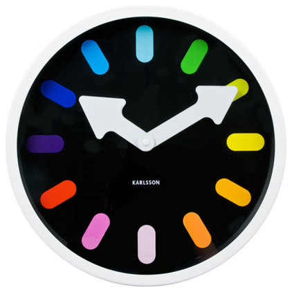 Modern Wall Clocks by Utility