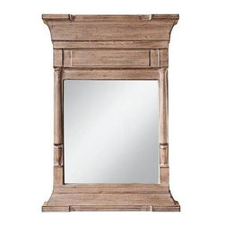 "Murray Feiss - Murray Feiss MR1159OC Buckley 72"" Rectangular Mirror in Old Cedar MR1159OC - The Buckley Collection of mirrors would look great over a bedroom cabinet.Collection: Buckley Extension: 5 Finish: Old Cedar Glass Height: 22 Glass Width: 20 Height: 72 Orientation: Portrait Shade: Clear Glass Shape: Rectangular Suggested Room: Fit Bedroom, Foyer, Hallway Weight: 31.5 Width: 28"