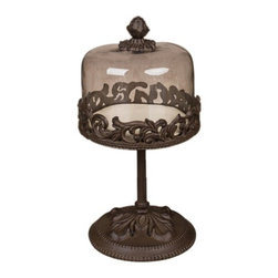GG Collection - The GG Collection 14in Dessert Pedestal - The GG Collection 14in Dessert Pedestal