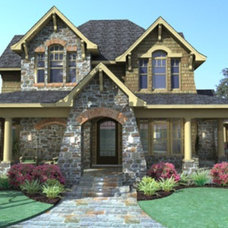 Traditional Rendering by Houseplans.com