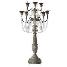 traditional candles and candle holders by Candelabra