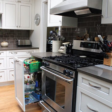 Transitional Kitchen by Kitchen Craft Cabinetry Vancouver and Victoria