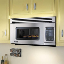 """Viking Professional Series VMOR205SS 30"""" Convection Microwave Hood - 30"""" Convection Microwave Hood with 1.1 Cu Ft Capacity, Multiple Convection Modes, Child Safety Lock, 300 CFM Built-in Exhaust System"""