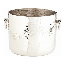Arteriors - Arteriors Home - Grace Container In Polished Nickel - 2619 - Features