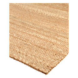 "Natural Area Rugs - ""Garnet"" Jute Wool Rug, Hand Loomed by Artisan Rug Maker - Free & Same Day Shipping within Continental USA. International Shipping Available (Contact us for a quote). Made from Durable Blend of Jute and Wool. Hand Loomed by Artisan Rug Maker. Made from Nature's Finest Materials & Earth Friendly, Imported. Our hand crafted jute rug is an organic choice for earth-friendly homes. These rugs add a sophisticated touch to any room. Like any rug, rug pads are recommended as it will prolong the longevity of your jute/wool rug and protect your hardwood floor."