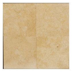 """Jerusalem Gold Marble Polished Floor Tiles 12"""" x 12"""" - Lot of 20 Tiles - 12"""" x 12"""" Jerusalem Gold Marble Tiles."""