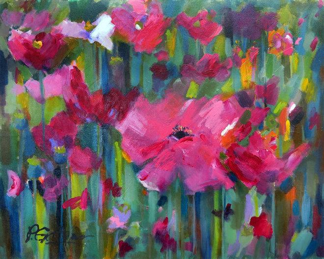 Contemporary Artwork by Pamela Gatens Fine Art
