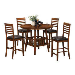 Coaster Furniture Knoxville 5 Pc Counter Height Dining