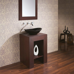"22"" Anzio Single Vessel Sink Vanity -"