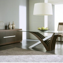Rossetto Furniture - Mirage Italian Dining Table - R993010000006 - Mirage Collection Buffet