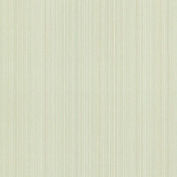 Brewster Home Fashions - Hettie Green Textured Pinstripe  Wallpaper. - Soft green pinstripes abound on this beautifully hand-painted striped wallpaper. Subtle beige and light green strokes bring forth texture while keeping it a modern classic.