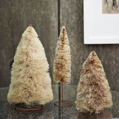 traditional holiday decorations by West Elm
