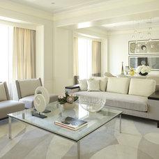 Contemporary Living Room by Jessica Lagrange Interiors