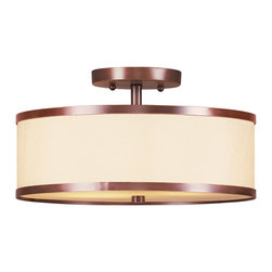 Livex Lighting - Livex Lighting 6343-70 Ceiling Light/Flush Mount Light - Livex Lighting 6343-70 Ceiling Light/Flush Mount Light