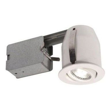 BAZZ - BAZZ 3 in. Recessed White LED Lighting Fixture 303L5W - Shop for Lighting & Fans at The Home Depot. LED Recessed Fixture with no insulation box required. Multi-Directional, Energy Saving fixture used for insulated ceiling. Fixture finish is white and also available in Brushed Chrome. Item number 303L5B.