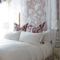Traditional Bedroom by Kellie Burke Interiors