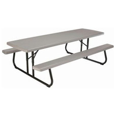 Contemporary Outdoor Dining Tables by Home Depot