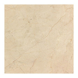 Stone & Co - Crema Marfil 6x6 Polished Marble Floor and Wall Tile - Finish: Polished