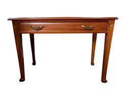 Louis Majorelle - Consigned Small Art Nouveau Desk Attributed to Louis Majorelle - Height: 29 in. (73.66 cm)