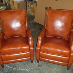 2013 Customer Custom Orders - Comfort Design Frost Recliners at Barnett Furniture in Trussville / Birmingham, Alabama.