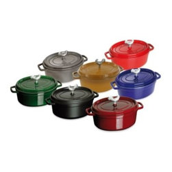 Staub - Staub 5.75-Quart Coq au Vin Cocottes - These beautiful Coq Au Vin cocottes from Staub have been created and perfected in the style of the French oven and commemorate the traditional French poultry dish in size, shape, and appearance.