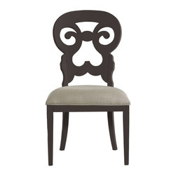Stanley Furniture - Coastal Living Retreat-Wayfarer Side Chair - Gentle curves and a soft seat play well with the rolling sea.