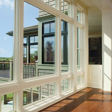 modern windows by Hudson Street Design