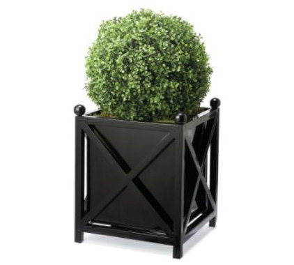 modern outdoor planters by Grandin Road