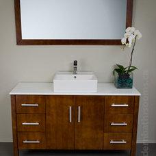 Contemporary Bathroom Vanities And Sink Consoles by modernbathrooms.ca
