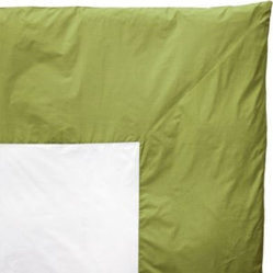 Lime Color Frame Duvet