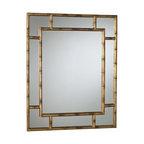 Arteriors - Arteriors 3138 Porter Bamboo Mirror - Arteriors 3138 Porter Bamboo Mirror