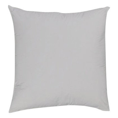 """Bed Linens - Euro Pillow 26x26"""" Down Alternative (each), 26X26 inch-Euro- Pillow, White - Down Alternative Euro-Pillows overfilled 28 ounces of Micro-Denier fiber for the softness of a pure down pillow * Euro size pillows, 26x26"""" each. * Pillows include durable 100% Egyptian cotton covers * 400 Thread count cover * Filled with Down-Alternative Micro-Fiber Machine wash ."""