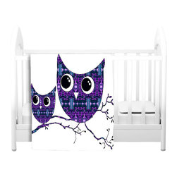 DiaNoche Designs - Throw Blanket Fleece - Owl 24 - Original artwork printed to an ultra soft fleece blanket for a unique look and feel of your living room couch or bedroom space. Dianoche Designs uses images from artists all over the world to create Illuminated art, canvas art, sheets, pillows, duvets, blankets and many other items that you can print to. Every purchase supports an artist!