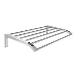 Lefroy_Brooks - Lefroy Brooks - Kafka 24 Inch Towel Rack - K1-5122-CP - Polished Chrome Finish