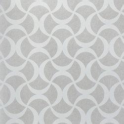 Century Classic - Intertwining Ribbon Wallpaper G580606 - Material: Non-woven