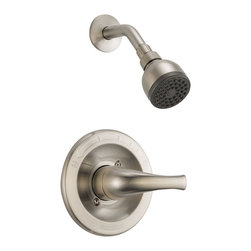 Delta Shower Trim - PTT188763-BN - Getting ready in the morning is far from routine when you're surrounded by a room and in the company of a faucet that reflects your personal style