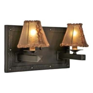 Steel Partners Inc - Double Sconce - ROGUE RIVER - Every piece we create is unique — handcrafted at our factory in Chehalis, Washington, USA. Due to this, lead times are 2 to 4 weeks.