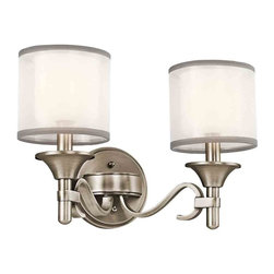 Kichler Lighting - Kichler Lighting 45282 Lacey 2 Light Vanity - 2, 60W Candelabra
