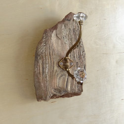 Driftwood Creations - Bronze & Copper Driftwood Towel Rack.