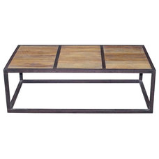 Industrial Coffee Tables by Kathy Kuo Home