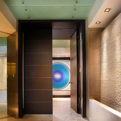 modern entry by Pepe Calderin Design- Miami Modern Interior Design