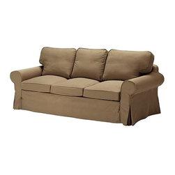 IKEA of Sweden - EKTORP Sofa cover - Sofa cover, Idemo light brown