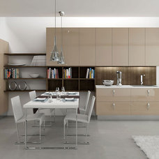 Contemporary Kitchen Cabinets by EVAA Home Design Center