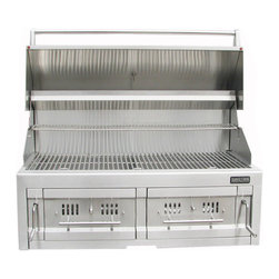 "Sunstone Grills - 42"" Dual Zone Charcoal & Wood Burning Grill - Quick Overview"