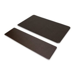 Imprint - Imprint Nantucket Anti-Fatigue Comfort Mat in Espresso - Imprint anti-fatigue comfort mats are manufactured using proprietary eco9 technology that is environmentally-friendly, non-toxic and made without the use of toxic, heavy metals.