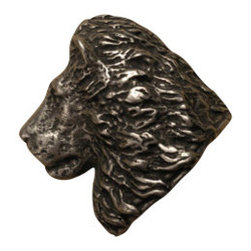 Anne at Home Hardware - Lion Head  Knob, Antique Bronze - Made in the USA - Anne at Home customized cabinet hardware enables even the most discriminating homeowner to achieve the look of their dreams.  Because Anne at Home cabinet hardware is designed to meet your preferences, it may take up to 3-4 weeks to arrive at your door. But don't let that stop you - having customized Anne at Home cabinet knobs and pulls are well worth the wait!   - Available in many finishes.