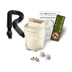 """RainReserve - Basic RainReserve Diverter System Multicolor - 202309 - Shop for Garden Equipment from Hayneedle.com! One of the """"greenest"""" rain diverter kits on the market the Basic RainReserve Diverter System is a high-performance kit designed to enhance your current rain barrel setup or to simply fill an open barrel or tank. This diverter system attaches to any standard (2- x 3-inch) downspout and catches the water you want while keeping out the debris you don't. The result is a ready supply of recycled rain water to nourish your lawn and garden. This rain diverter is constructed with thick-walled UV-resistant hybrid corn plastic that is made to last through years of use. This material and the open design make the diverter able to withstand extreme rainfalls freezes and debris. Dual outlet ports allow for parallel filling of two rain barrels if desired. The design allows for large debris to bypass the tank or barrel and an internal feature further reduces debris before the water flows into your rain barrel. The diverter can be attached to your home using one of two methods: brick or direct connect. An access door allows for quick and easy annual maintenance. One of the most convenient features of the Basic RainReserve Diverter System is its 6-foot-long black tubing. The extra length and flexibility allow you to place your rain barrel in the position that is most convenient such as away from your foundation to ease flood concerns. The 1-inch internal diameter of the tube maximizes water flow and the opaque color inhibits organic growth. You can use this rain reservation system with any size rain barrel or tank with a standard 2- x 3-inch downspout. The use of expansion kits and daisy chain kits can further increase water storage capacity and save even more money on your utility bills. This system is made in the USA and carries a one-year manufacturer's warranty. Partial proceeds from your purchase support a non-profit organization called Sustain Dane that focuses on"""