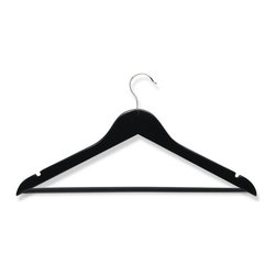 Honey Can Do - Honey Can Do Wood Suit Hangers - Set of 8 - HNGZ01525 - Shop for Clothing Hangers from Hayneedle.com! About Honey-Can-DoHeadquartered in Chicago Honey-Can-Do is dedicated to helping you organize your life. They understand that you need storage solutions that are stylish and affordable at the same time. Honey-Can-Do focuses on current design trends and colors to create products that fit your decor tastes while simultaneously concentrating on exceptional quality. When buying a Honey-Can-Do product you can be sure you are purchasing a piece that has met safety control standards and social compliance methods.